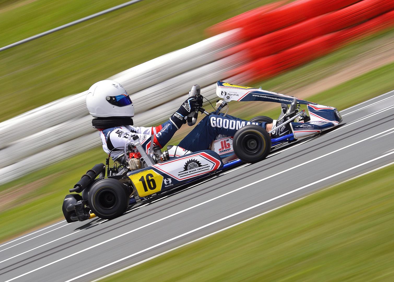 Jacques Goodman Racing Testing 2021